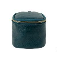 Port-monede piele turcoaz PM077