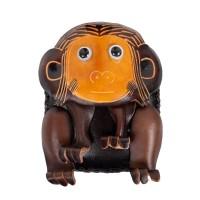 Port-monede piele Monkey maro inchis PM081