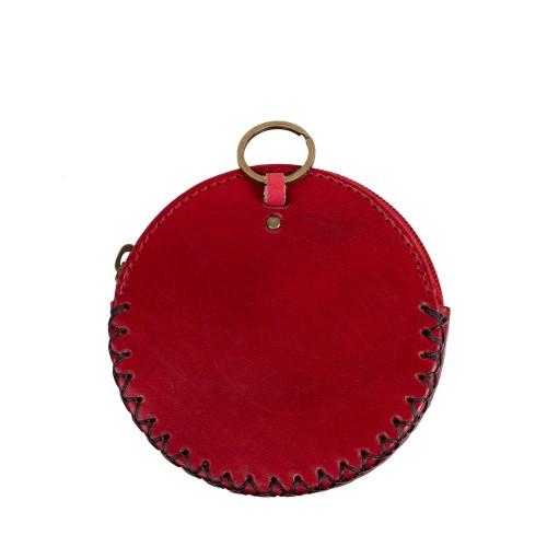 Port-monede piele catel rosu PM094