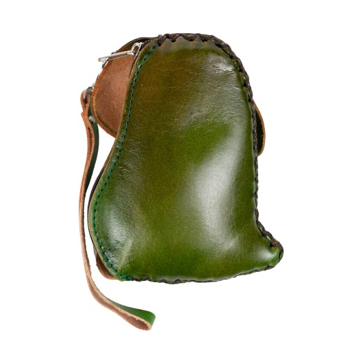 Port-monede piele catel verde PM095