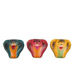 Port-monede sarpe piele multicolora PM121