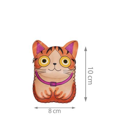 Port-monede pisicuta piele multicolora PM124
