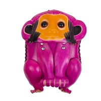 Port-monede  piele Monkey roz PM137