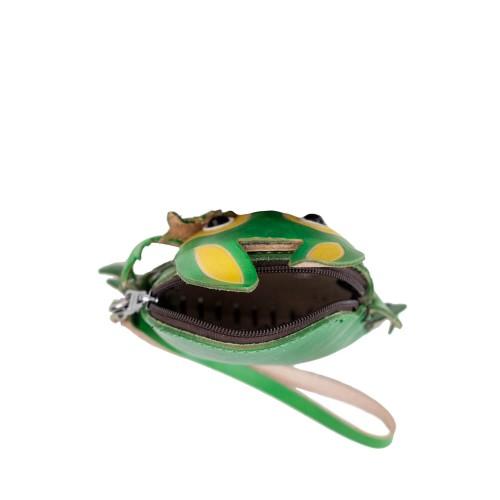 Port-monede piele verde iepuras PM155