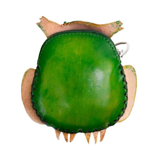 Port-monede Bufnita Verde Papion PM042