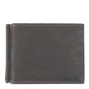 Port-card din piele naturala maro PT016