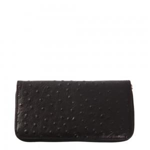 Portofel din piele naturala negru Model PTF002 Portofele Femei