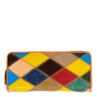 Portofel dama piele multicolor PTF154