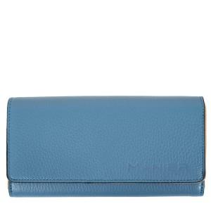 Portofel piele albastru prafuit PTF170