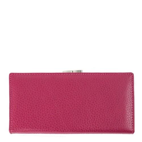 Portofel din piele roze PTF070