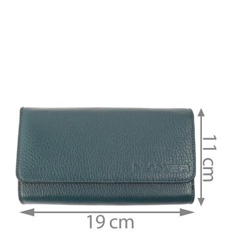Portofel verde inchis PTF076