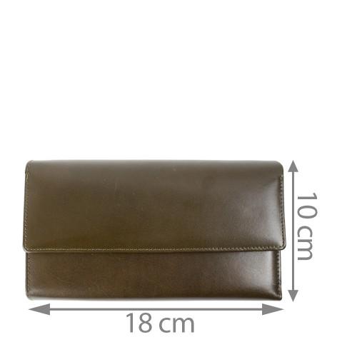 Portofel piele dama maro brun PTF092