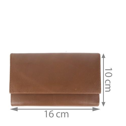Portofel dama maro ciocolatiu PTF093