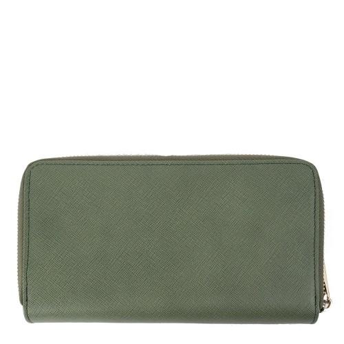 Portofel verde din piele naturala PTF119