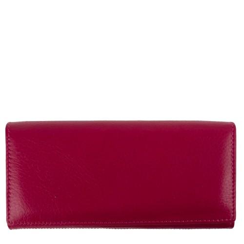Portofel dama piele naturala roz PTF160