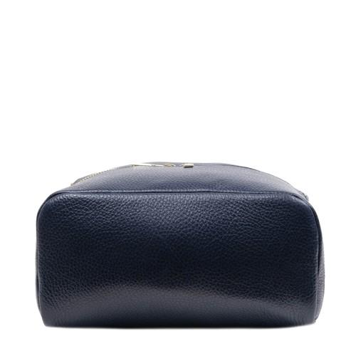 Rucsac piele naturala bleumarin GF2520