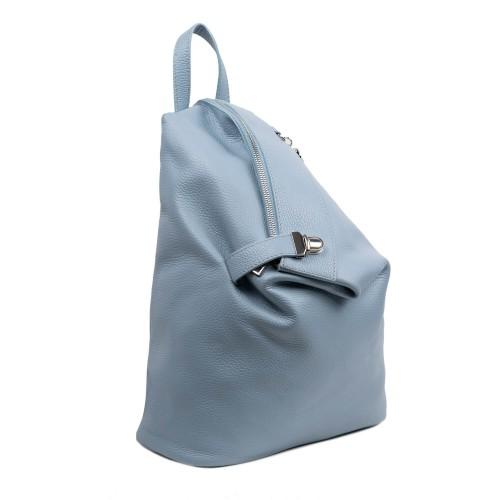 Rucsac dama piele albastru prafuit GF3143