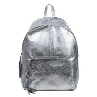 Rucsac piele argintie GF3155