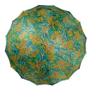 Umbrela imprimeu verde UB002