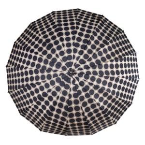 Umbrela gri cu buline negre UB016